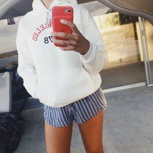 White Los Angeles sweatshirt